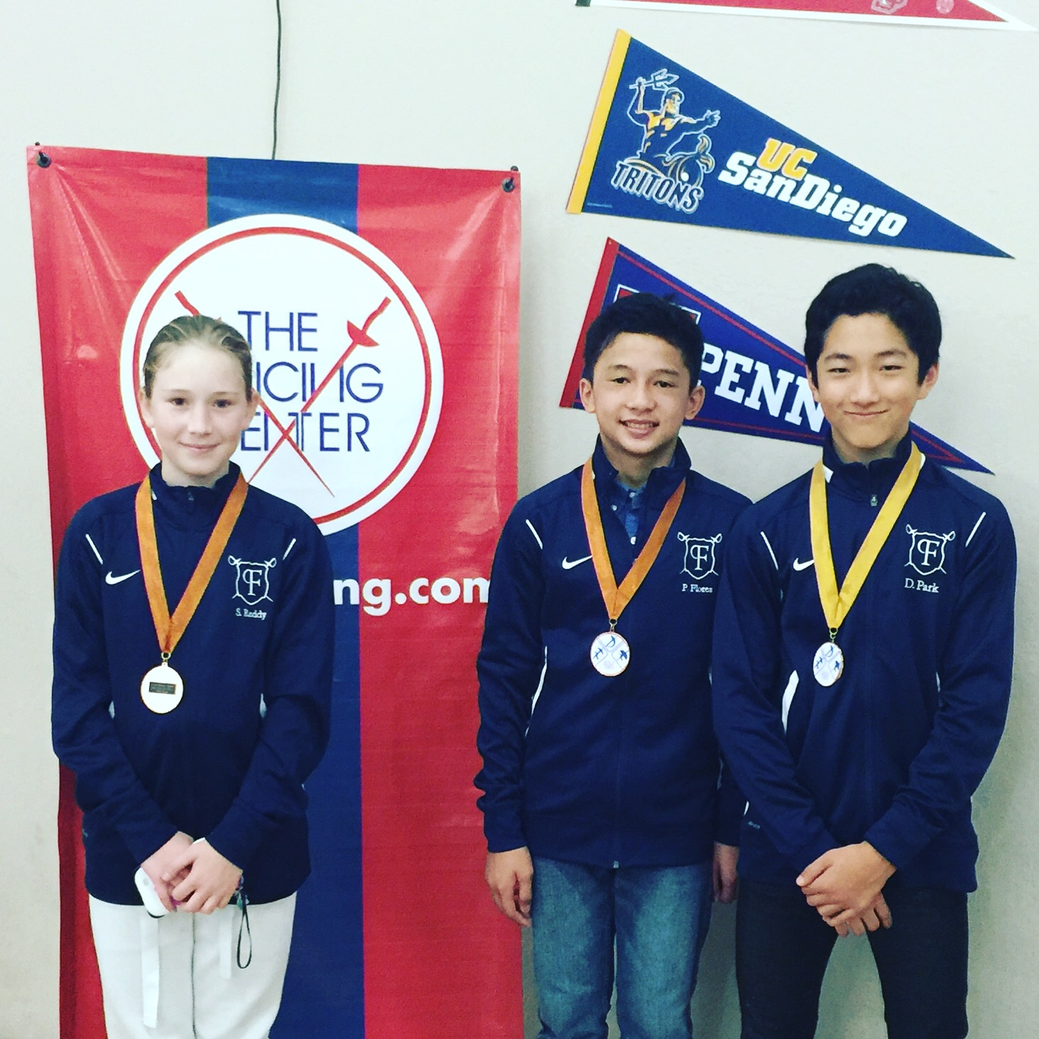 Donghwan 1st, Peter 3rd and Nicole 5th