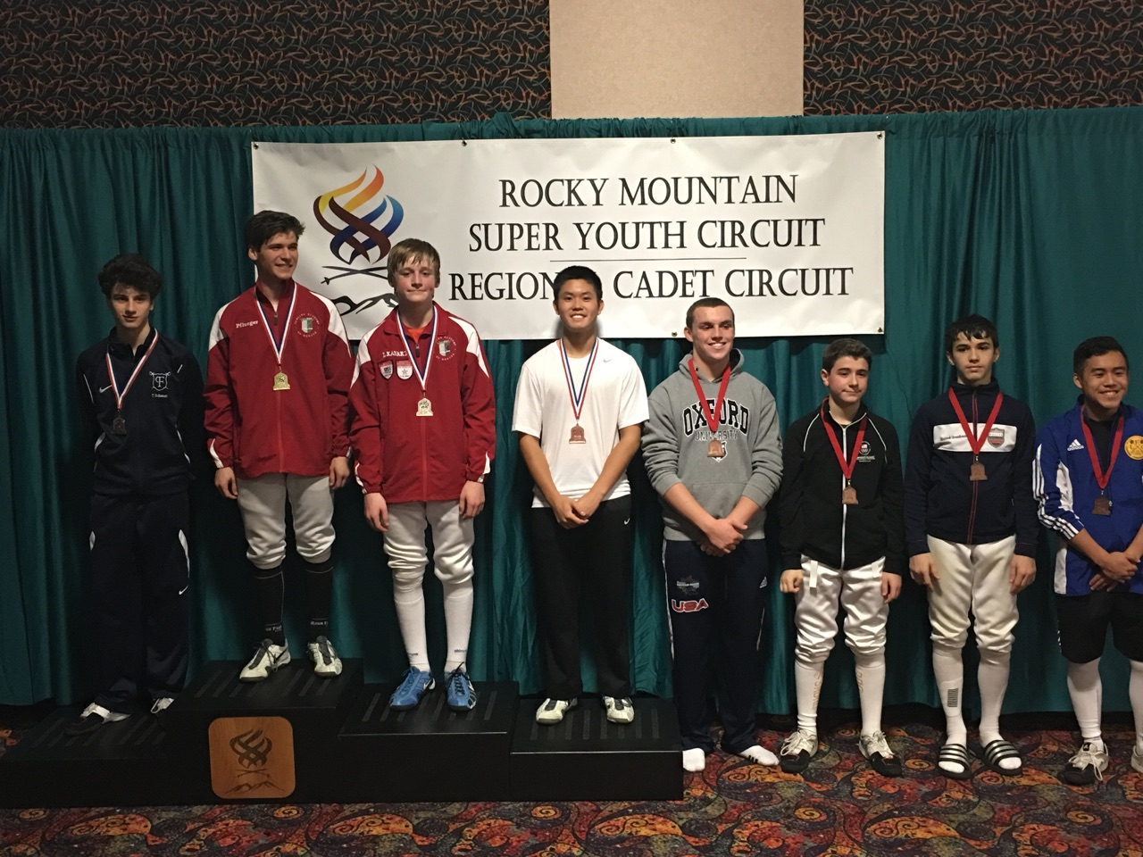 Trenton 2nd place
