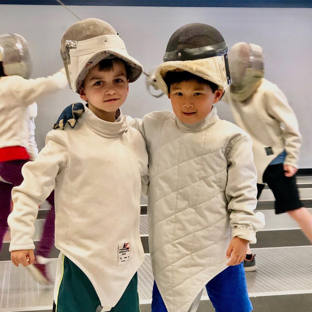 beginners fencing camp