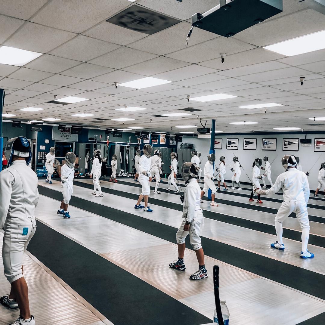 fencing camps